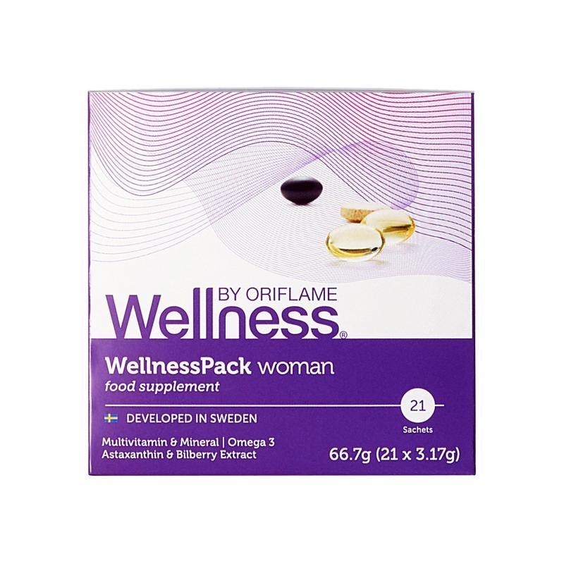 29696 Thực Phẩm Bổ Sung Wellness Pack Woman Dành Cho Nữ – 21 Gói Đơn