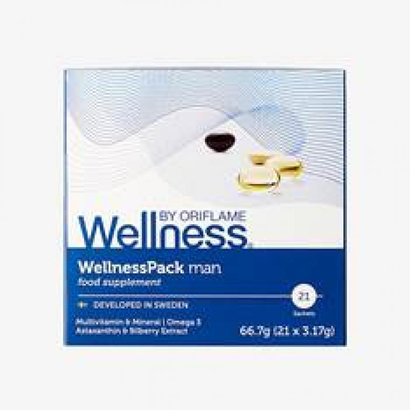 29697 Thực Phẩm Bổ Sung Wellness Pack Man Dành Cho Nam – 21 Gói Đơn
