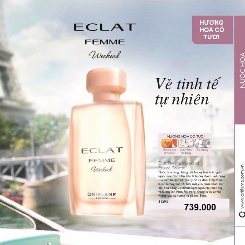 31293 Oriflame – Nước Hoa Nữ Oriflame Eclat Femme Weekend Eau De Toilette 50ml
