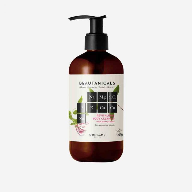 35892 Gel tắm làm sạch và dưỡng ẩm da Beautanicals Revitalising body cleanser