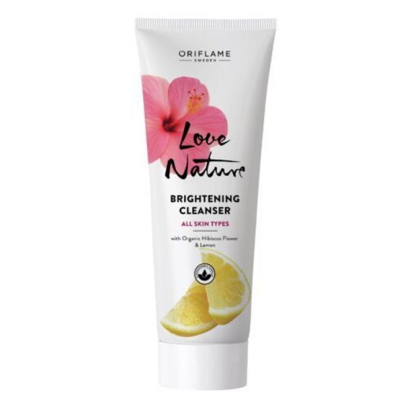 35905 Oriflame – Sữa rửa mặt Oriflame làm trắng da Love Nature Brightening 125ml