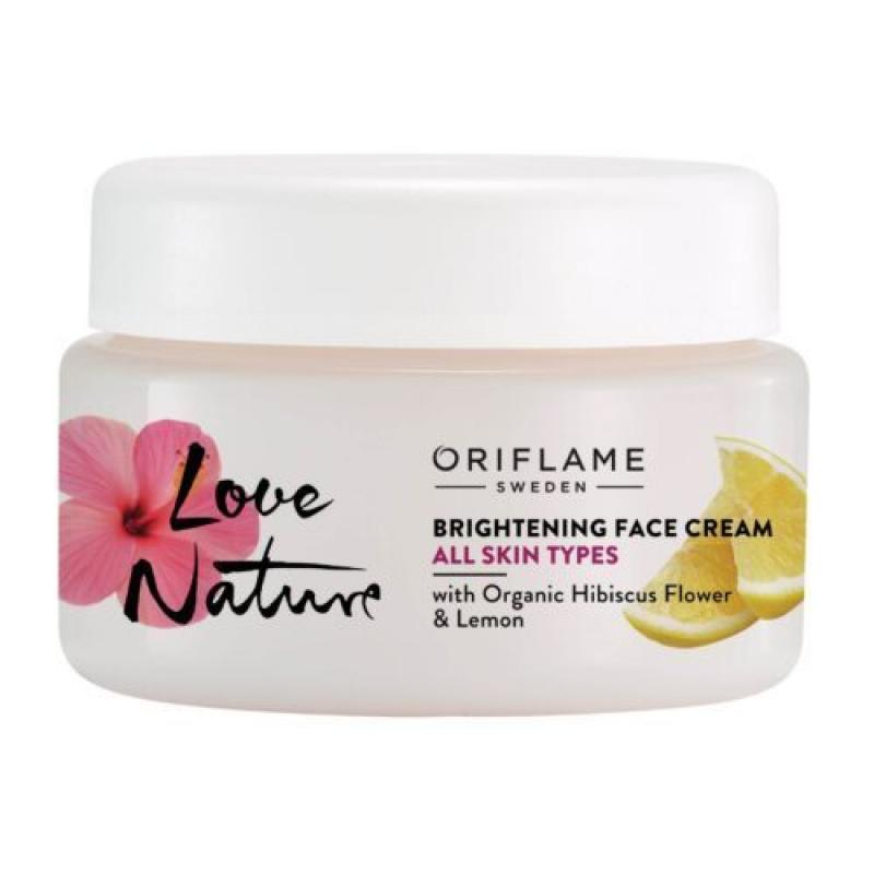 35907 Oriflame – Kem dưỡng ẩm làm trắng da Oriflame Love Nature Brightening 50ml
