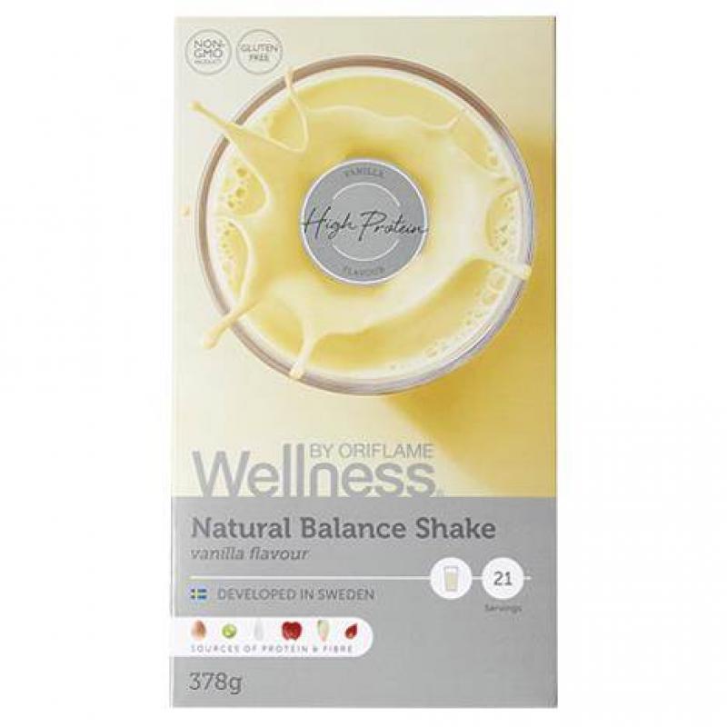 29690 Wellness Bột Oriflame Natural Balance Shake Vanilla Flavour – 378g