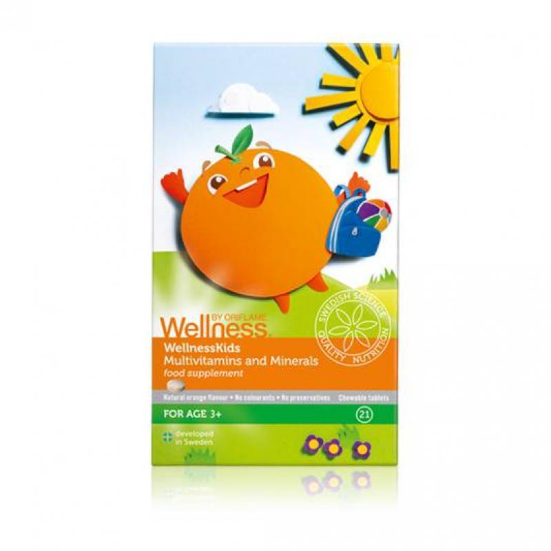 WellnessKids Vitamin Và Khoáng Chất Tổng Hợp Cho Trẻ Em – 21 Viên